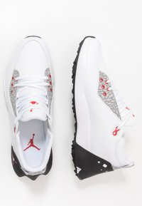 Nike Golf - JORDAN ADG 2 - Golfkengät - white/university red/black - 1