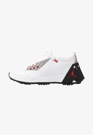 JORDAN ADG 2 - Golfkengät - white/university red/black