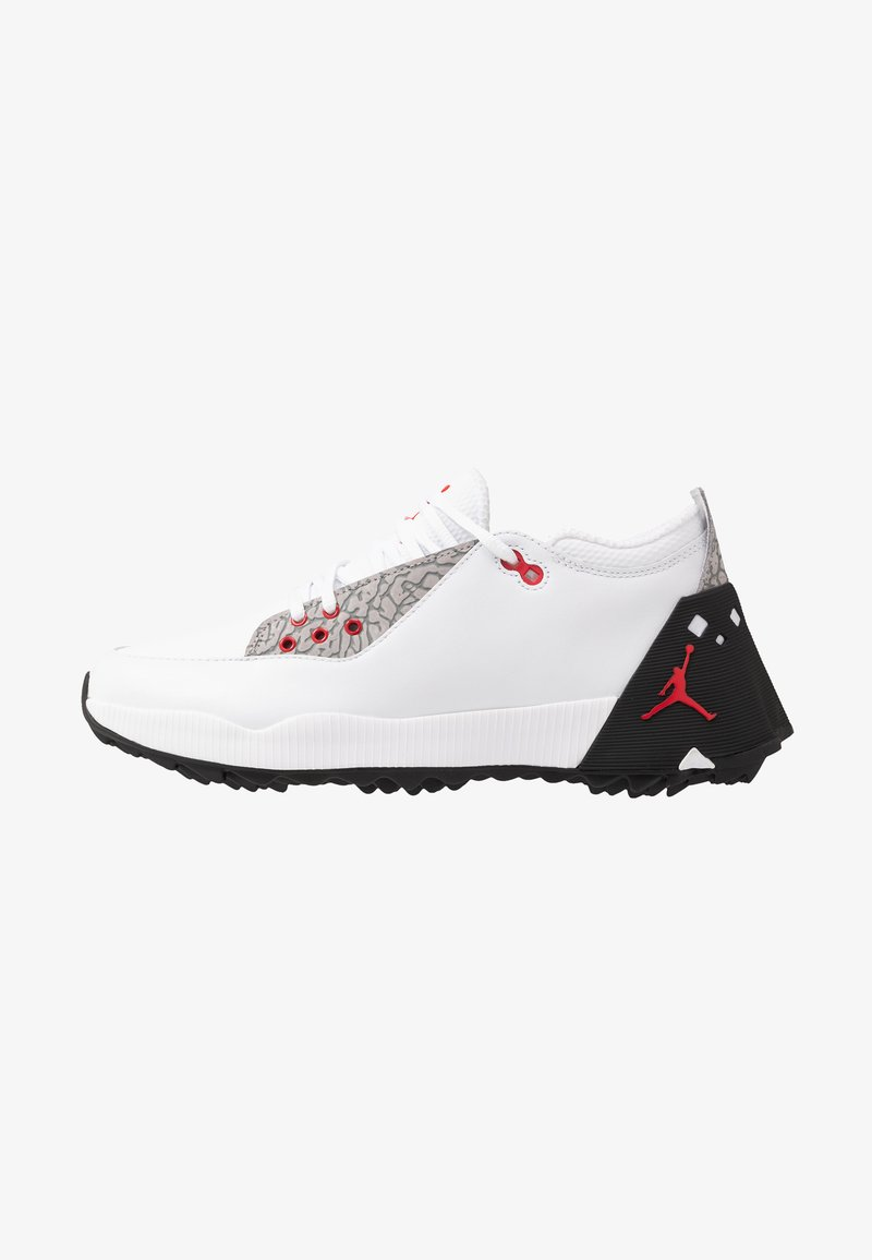 Nike Golf - JORDAN ADG 2 - Golfkengät - white/university red/black