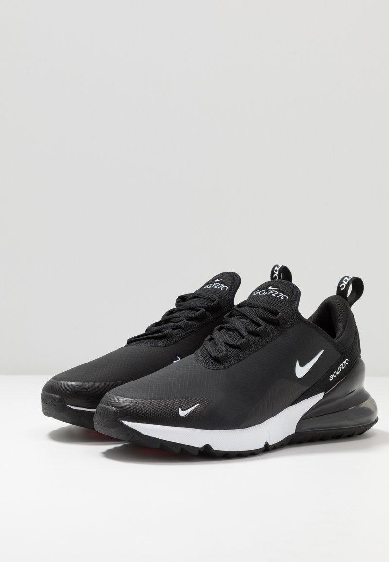 Nike Golf Air Max 270 G Golf Shoes Black White Hot Punch Zalando Co Uk