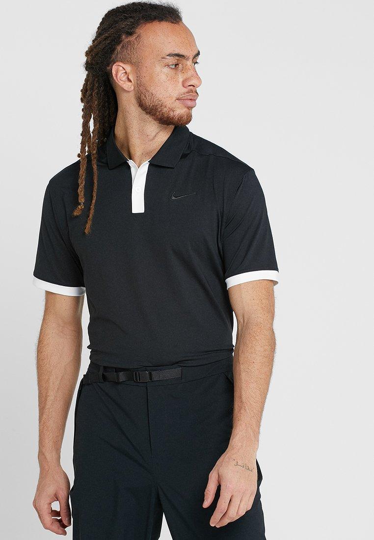 Nike Golf - DRY VAPOR - Funktionsshirt - black/white