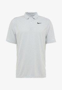 Nike Golf - DRY ESSENTIAL STRIPE - T-shirt de sport - white/black - 4