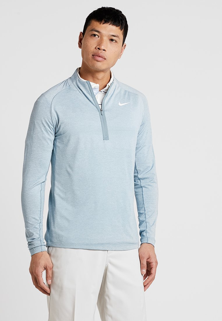 Nike Golf - DRY TOP HALF ZIP - Funktionsshirt - light silver/aviator grey/sail
