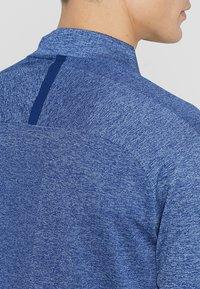 Nike Golf - DRY TOP HALF ZIP - Funktionströja - blue void/indigo fog - 5