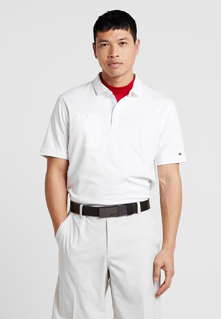 Nike Golf - DRY PLAYER SOLID - Funktionstrøjer - white/brushed silver