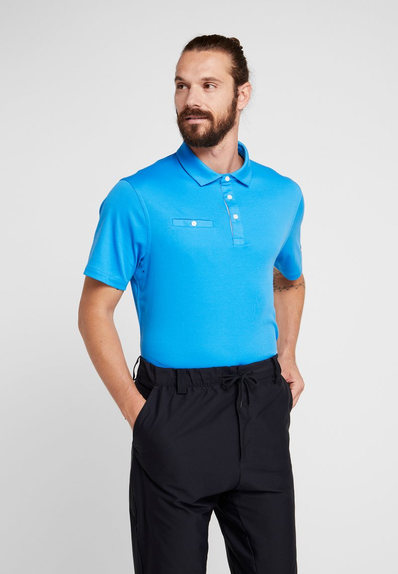 Nike Golf - DRY PLAYER SOLID - Funktionsshirt - light photo blue