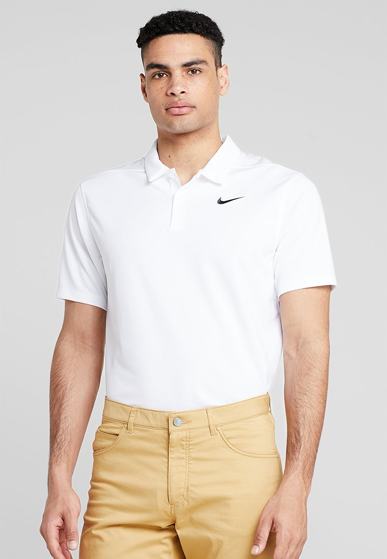 Nike Golf - DRY ESSENTIAL SOLID - Funktionströja - white/black