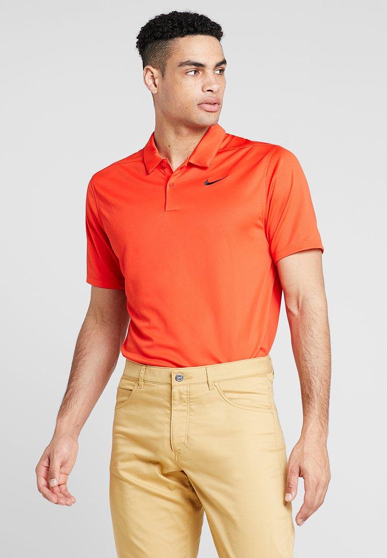 Nike Golf - DRY ESSENTIAL SOLID - Funktionströja - habanero red