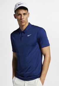 Nike Golf - DRY ESSENTIAL SOLID - Funktionströja - blue - 0