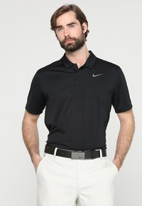 Nike Golf - DRY ESSENTIAL SOLID - Funktionstrøjer - black/cool grey - 0