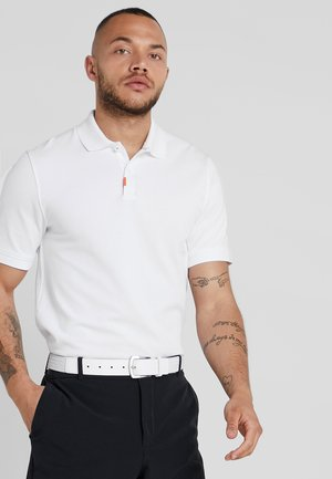 THE NIKE POLO SLIM - Poloshirts - white