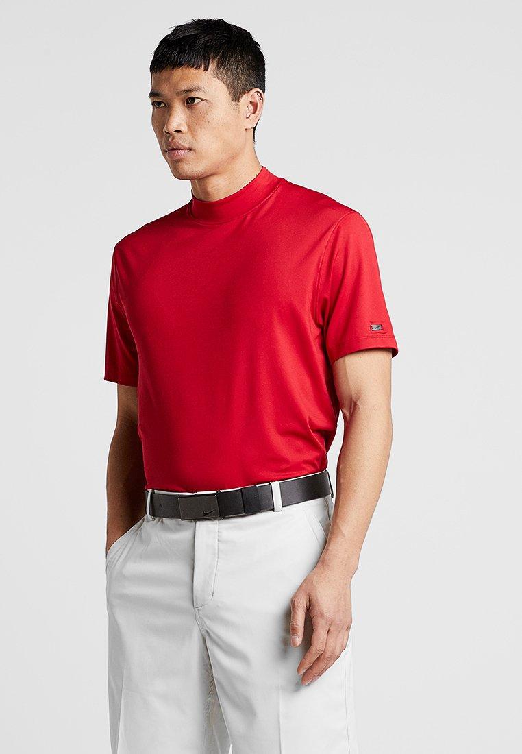 Nike Golf - TIGER WOODS M NK VAPOR MOCK - T-Shirt print - gym red