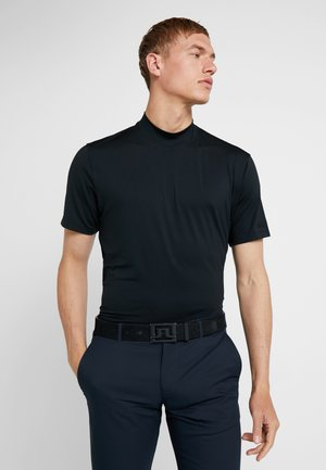 TIGER WOODS M NK VAPOR MOCK - T-shirt imprimé - black