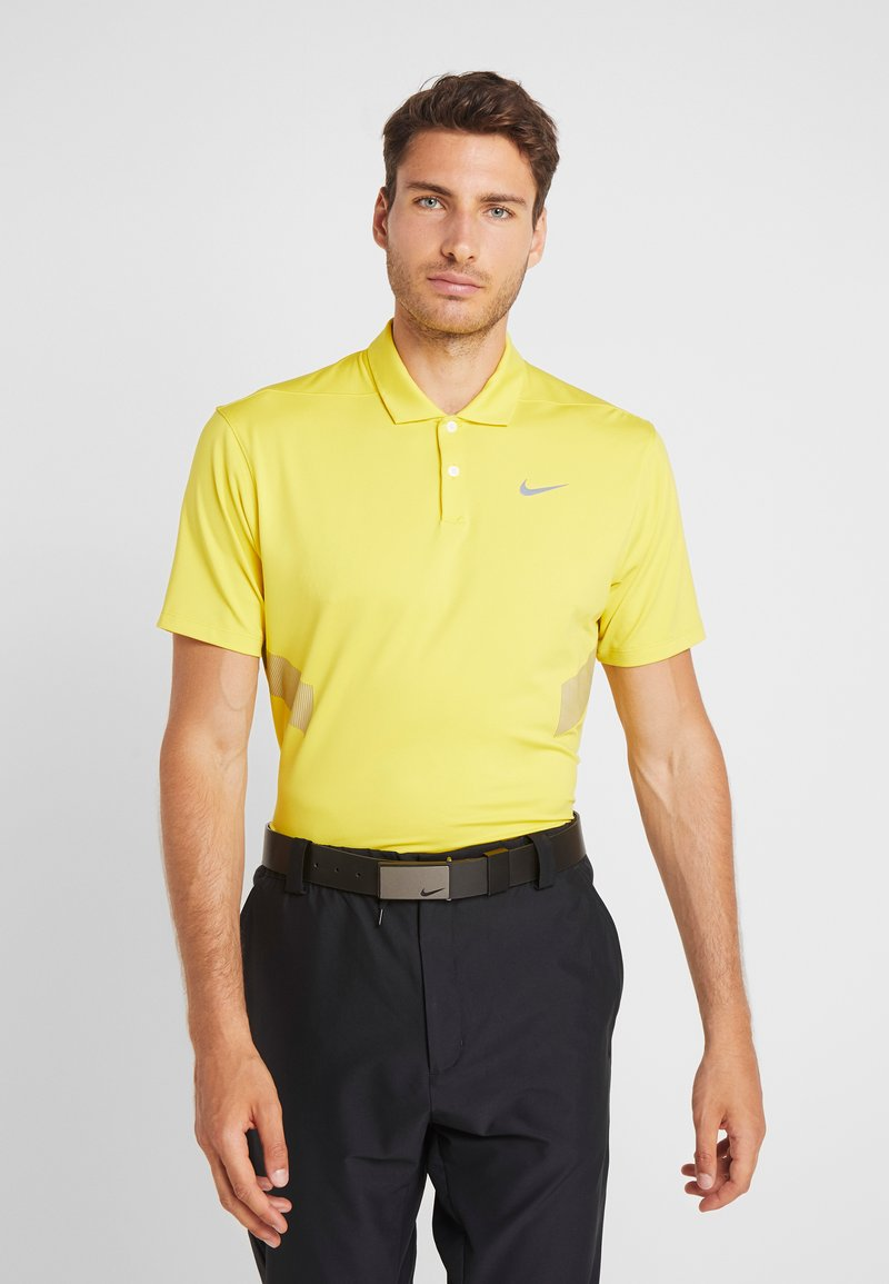 Nike Golf - DRY VAPOR REFLECT - Funktionsshirt - chrome yellow/reflective silver