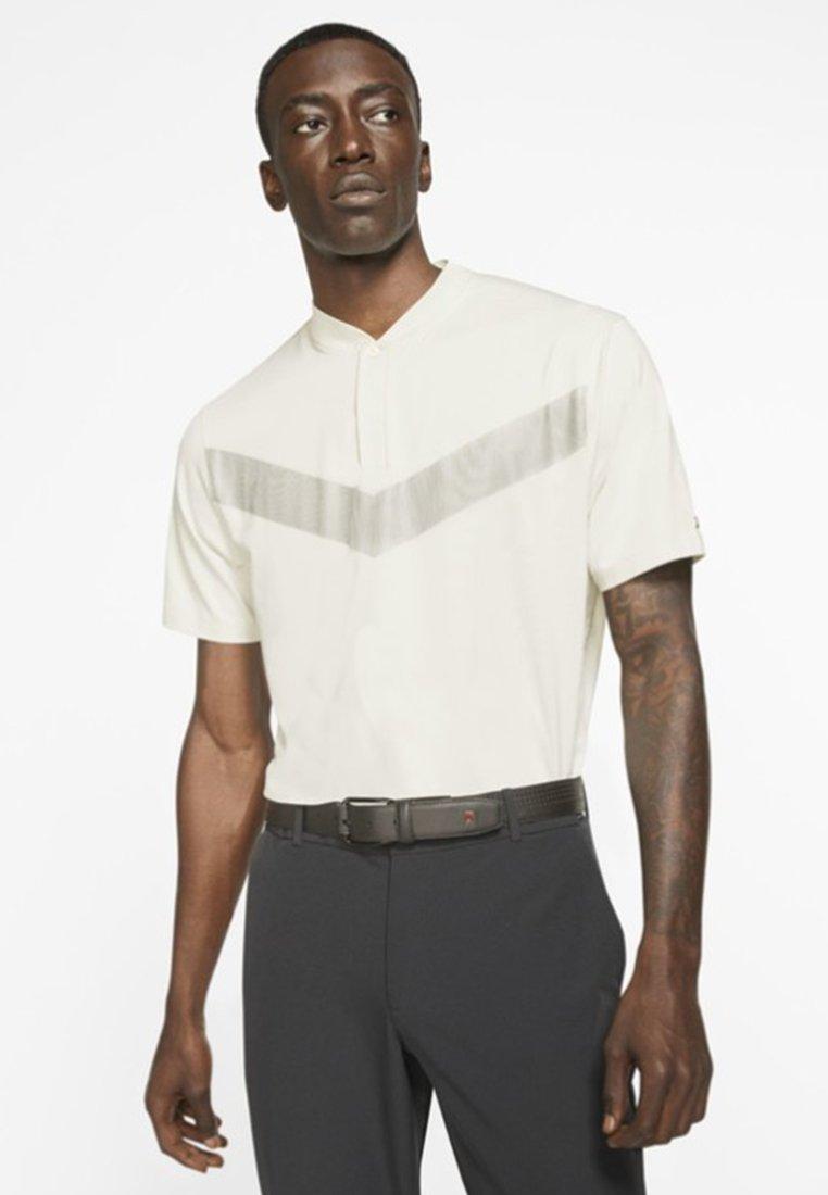 Nike Golf - TIGER WOODS DRY VAPOR REFLECT POLO - T-Shirt print - off-white/black