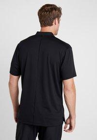 Nike Golf - TIGER WOODS DRY VAPOR REFLECT POLO - T-shirt imprimé - black - 2
