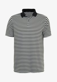 Nike Golf - DRY STRIPE - T-shirt de sport - black/anthracite/cool grey - 4