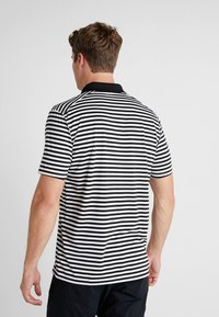 Nike Golf - DRY STRIPE - T-shirt de sport - black/anthracite/cool grey - 2