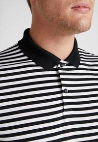 Nike Golf - DRY STRIPE - T-shirt de sport - black/anthracite/cool grey - 5