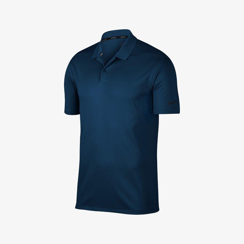 Nike Golf - DRI-FIT VICTORY  - Piké - college navy/black