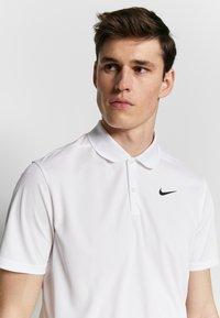 Nike Golf - DRY VICTORY SOLID - Funkční triko - white/black - 3