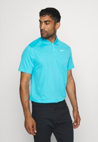Nike Golf - DRY VICTORY SOLID - Sports shirt - blue fury/white - 0