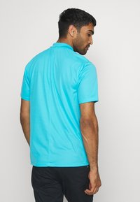 Nike Golf - DRY VICTORY SOLID - Sports shirt - blue fury/white - 2