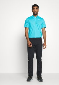 Nike Golf - DRY VICTORY SOLID - Sports shirt - blue fury/white - 1