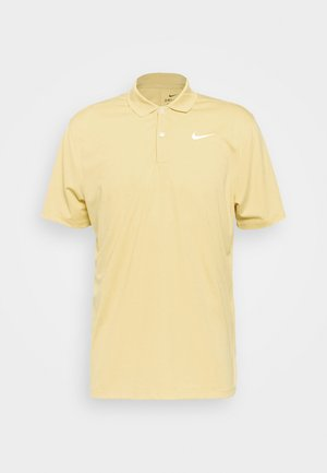 DRY VICTORY SOLID - Sports shirt - celestial gold/white