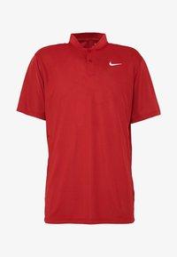 Nike Golf - DRY VICTORY - Funktionstrøjer - sierra red/white - 4