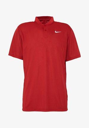 DRY VICTORY - T-Shirt print - sierra red/white
