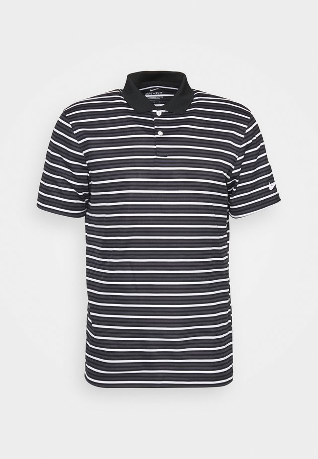 DRY VICTRY STRIPE - Funktionsshirt - black/gridiron/white/white