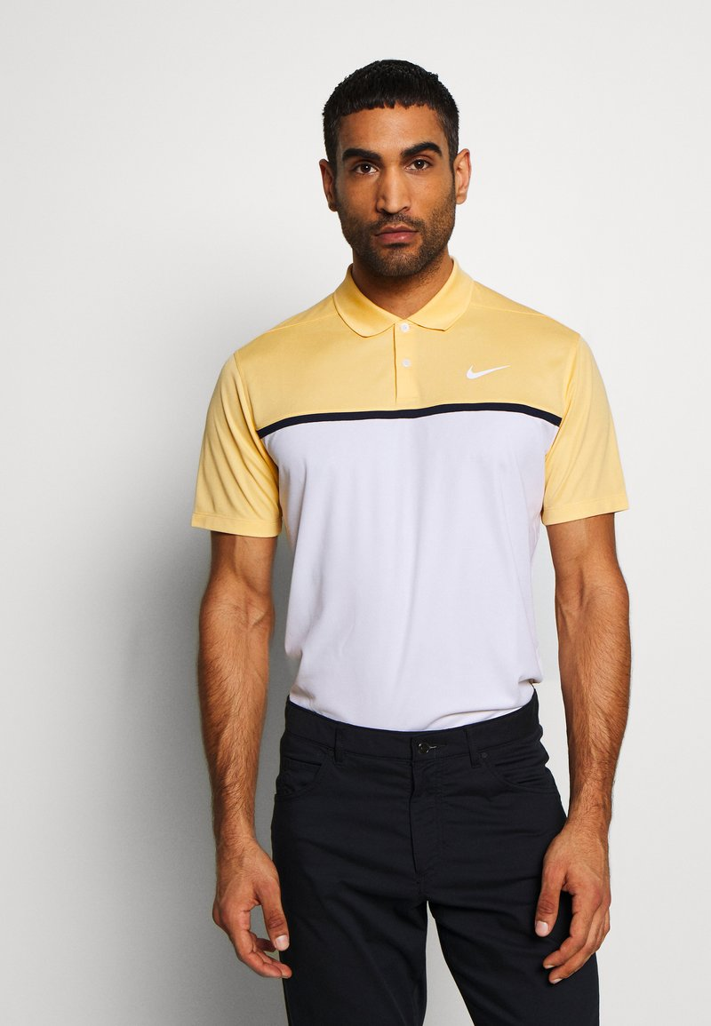 Nike Golf - DRY VICTORY - Treningsskjorter - celestial gold/white/obsidian