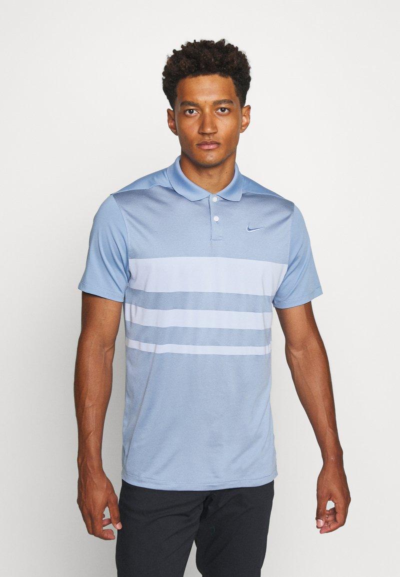 Nike Golf - DRY VAPOR - Koszulka sportowa - indigo fog/ghost