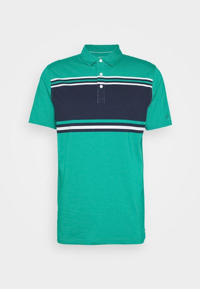 DRY PLAYER STRIPE - Sports shirt - neptune green/obsidian/sail/flt silver
