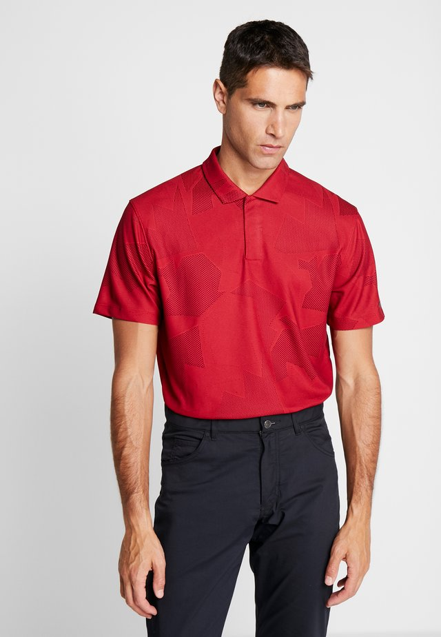 TIGER WOODS  - Treningsskjorter - gym red/black