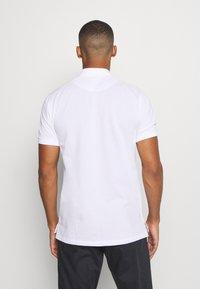 Nike Golf - CHARMS  - Poloshirts - white/obsidian/neptune green - 2
