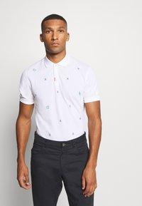 Nike Golf - CHARMS  - Poloshirts - white/obsidian/neptune green - 0