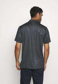 Nike Golf - DRY VAPOR - Funkční triko - smoke grey/black/lemon/white - 2
