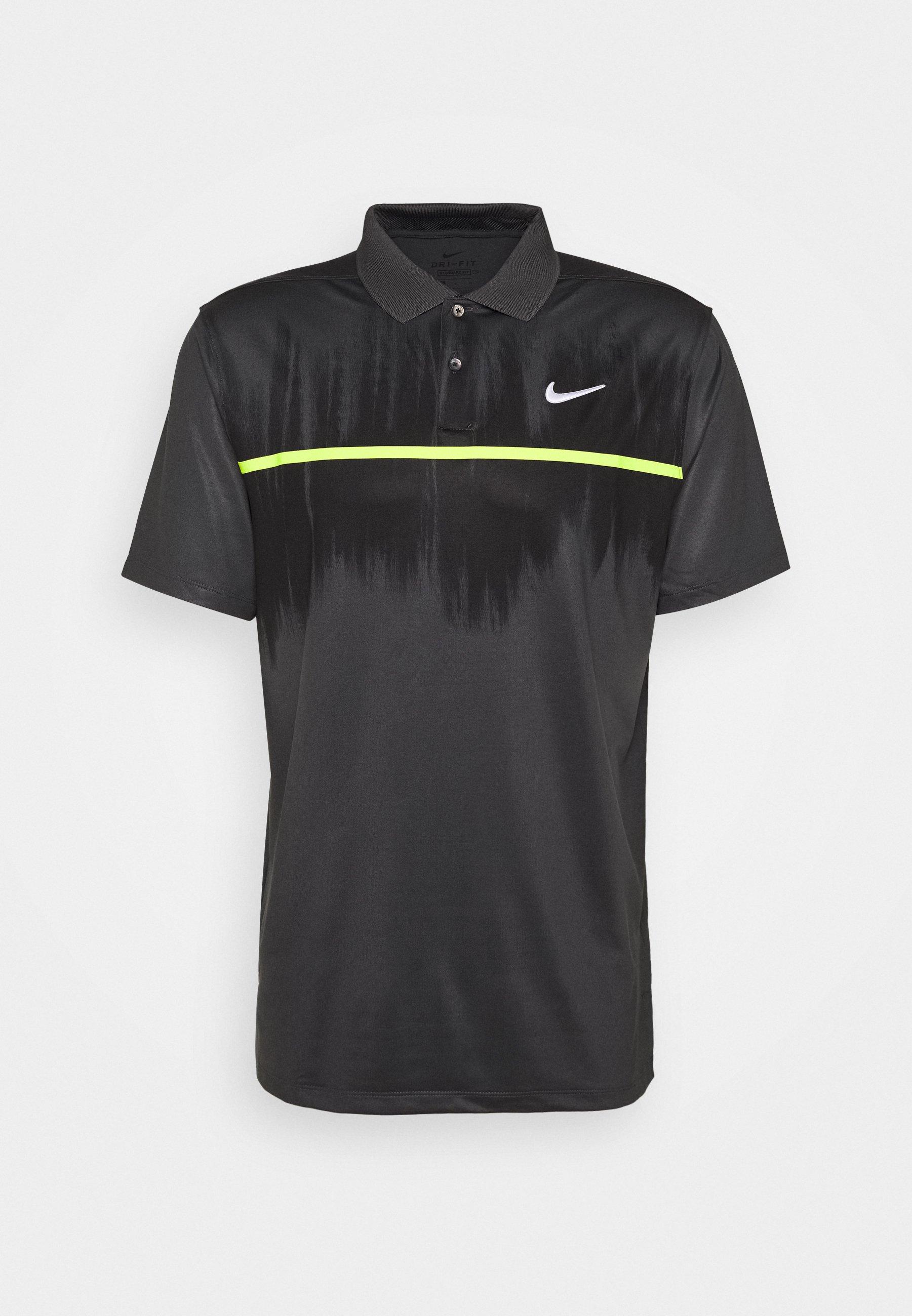 DRY VAPOR T shirt de sport smoke greyblacklemonwhite