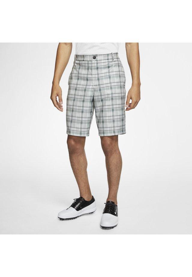 NIKE FLEX HERREN-GOLFSHORTS MIT KAROMUSTER - Sports shorts - black/black