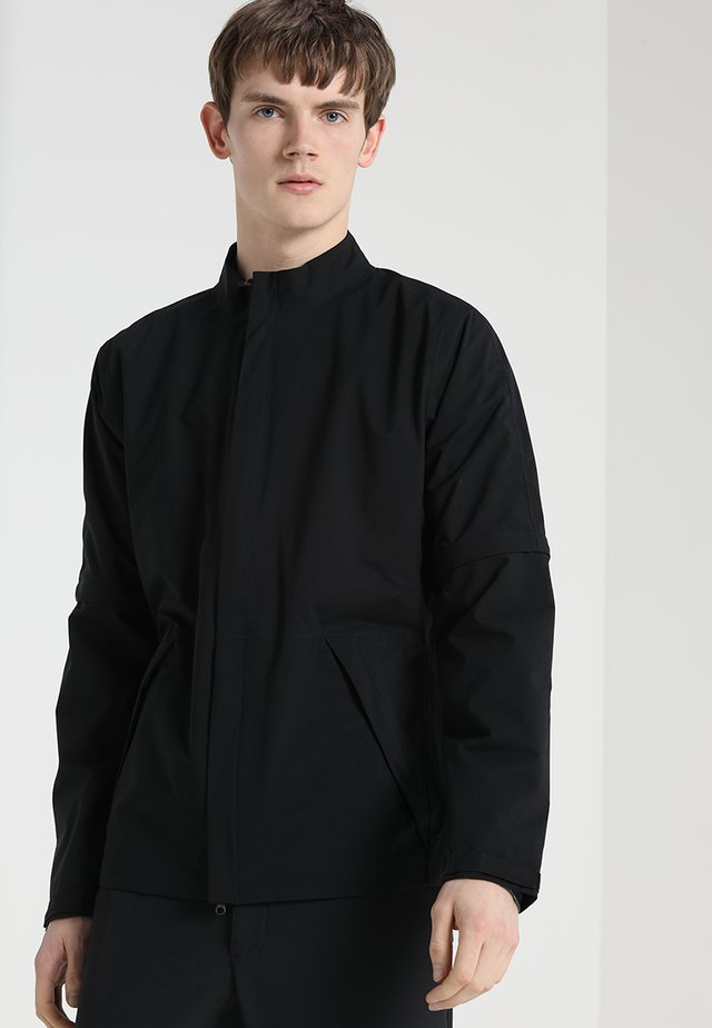 HYPERSHIELD CONVERTIBLE JACKET - Waterproof jacket - black