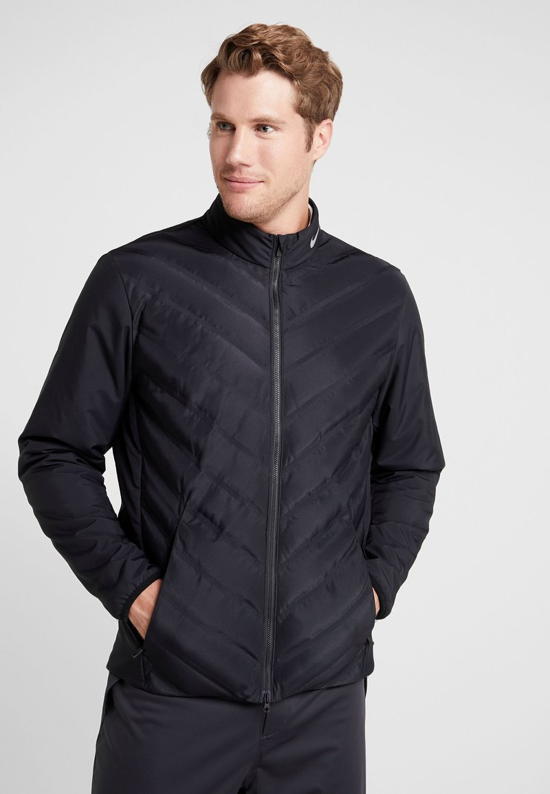 Nike Golf - Outdoorjacke - black/reflective silver