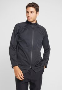Nike Golf - Vodotěsná bunda - off noir/black/photo blue - 2