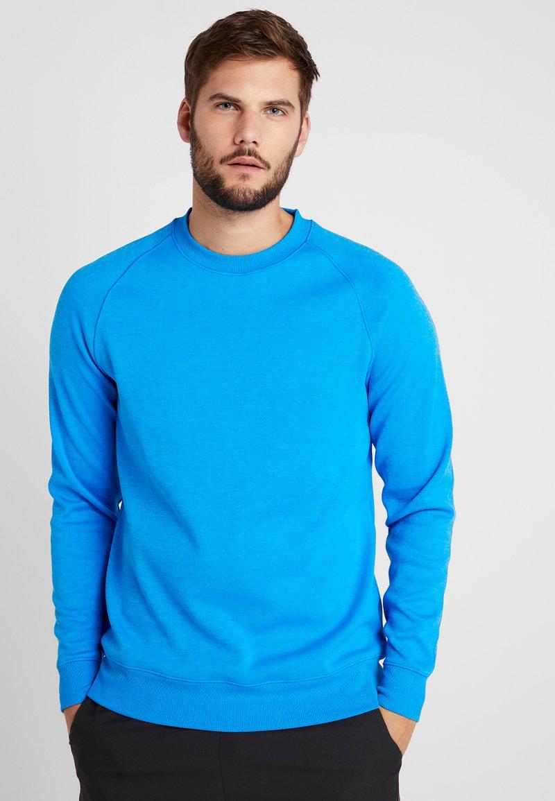 Nike Golf - DRY CREW SWEATER - Vereinsmannschaften - photo blue