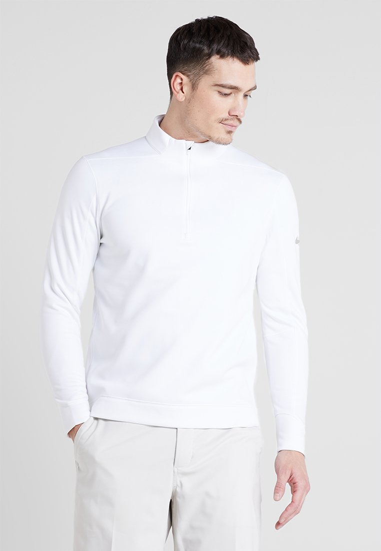 Nike Golf - THERMA REPEL TOP HALF ZIP - Fleece jumper - white
