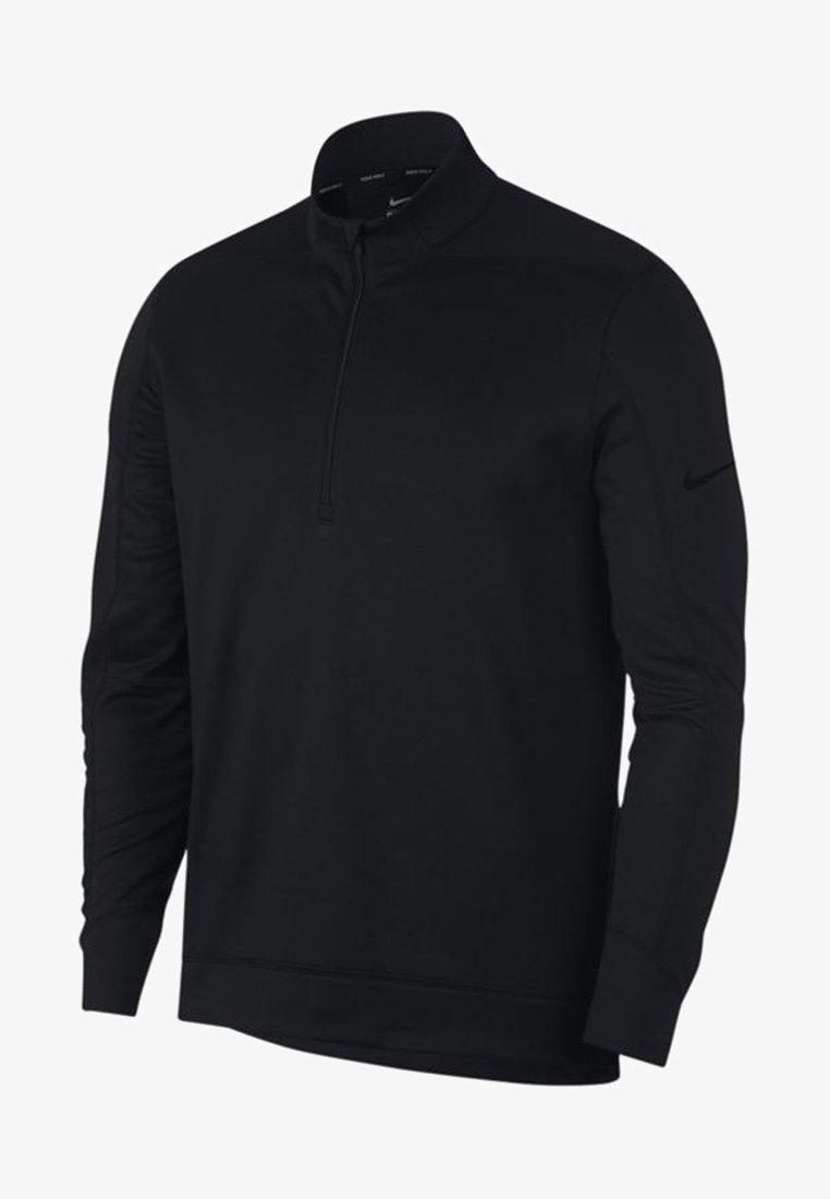 Nike Golf - THERMA REPEL TOP HALF ZIP - Felpa in pile - black