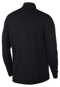 Nike Golf - THERMA REPEL TOP HALF ZIP - Felpa in pile - black - 1