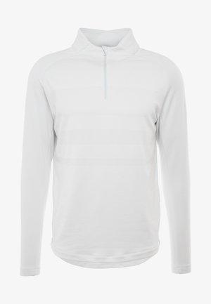DRY VAPOR - Sweatshirt - white/sky grey