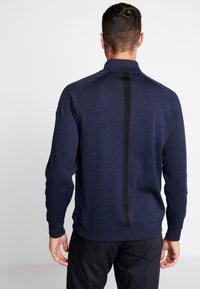 Nike Golf - DRY PLAYER HALF ZIP - Sweatshirts - obsidian/obsidian/black/obsidian - 2